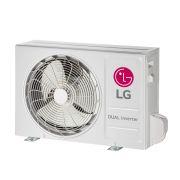 Ar Condicionado 110V Frio Split Hi-Wall LG DUAL Inverter Econômico 12.000 Btu/h - S4NQ12JA3WF