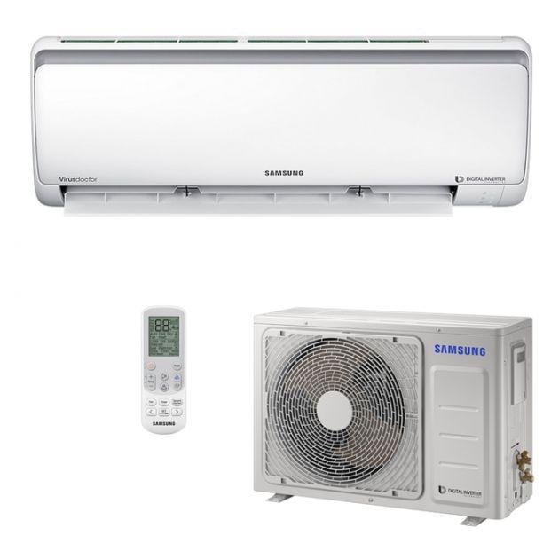 Ar Condicionado 220V Quente/Frio Split Hi-Wall Samsung Digital Inverter 12.000 BTU/h - 8 Polos