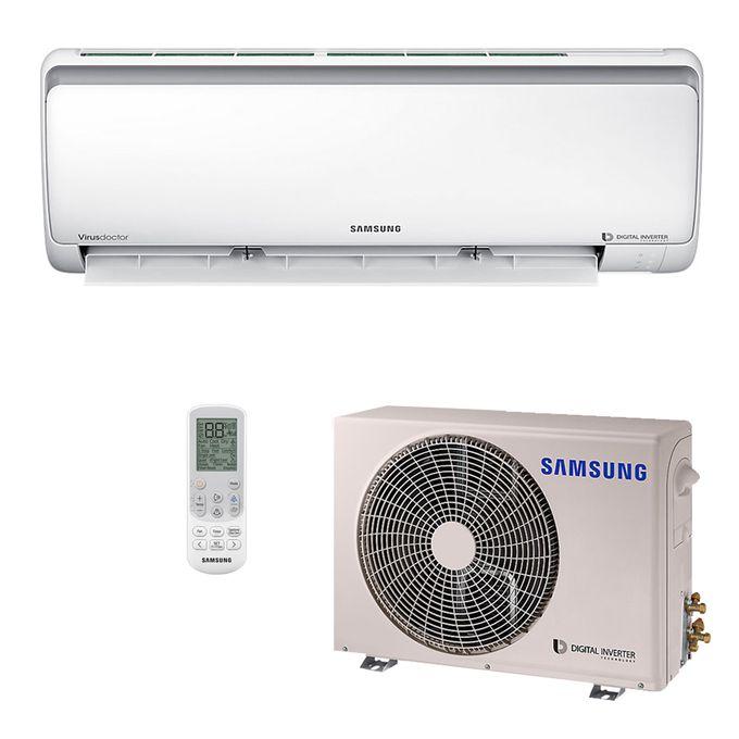 faadf2a19 Ar Condicionado 220V Quente Frio Split Hi-Wall Samsung Digital Inverter  9.000 BTU h - 8 Polos