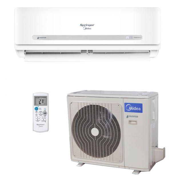 Ar Condicionado 220V Quente/Frio Split Hi-Wall Springer Midea Inverter 33.000 BTU/h