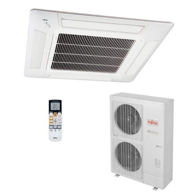 Ar Condicionado 380v Quente/Frio 45.000 Btu/h Cassete Inverter Fujitsu