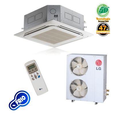 Ar Condicionado Cassete Inverter LG 54.000 Btus/h Frio 220v ATNQ54GNLE3
