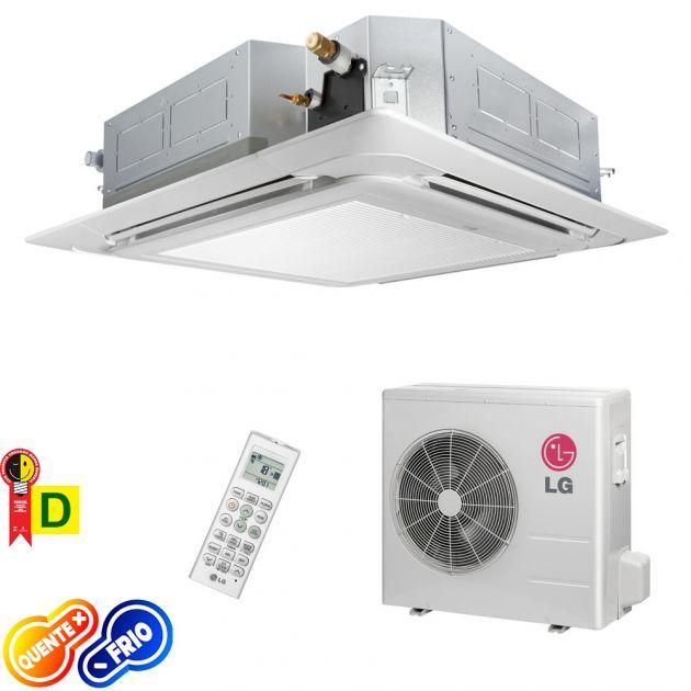 Ar Condicionado Cassete LG 28.000 BTU/h Quente/Frio 220V