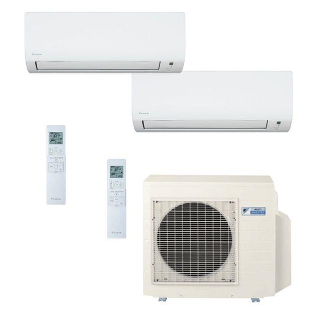 Ar Condicionado Daikin Multi Split Inverter 23.000 BTU/h (1x 09.000 1x 18.000) - Quente/Frio 220V