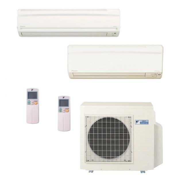 Ar Condicionado Daikin Multi Split Inverter 23.000 BTU/h (1x 12.000 1x 21.000) - Quente/Frio 220V