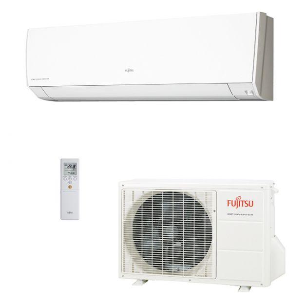 Ar Condicionado Fujitsu Inverter 9.000 Btu/h Quente/Frio Sensor de Presença 220v ASBG09LMCA