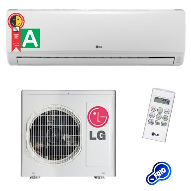 Ar Condicionado LG Split Hi Wall Smile 12.000 Btus/h Frio 220v TS-C122H4W0