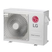 Ar Condicionado Multi-Split LG ArtCool Inverter 24.000 BTU/h (1x 8.500 e 1x 11.900) Quente/Frio 220V