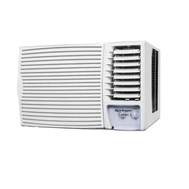 Ar Condicionado Quente/Frio 220V Springer Midea Silentia Janela 21.000 BTU/h - Mecânico   (ZQI215BB)