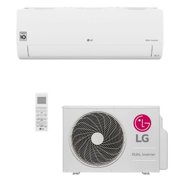 Ar Condicionado Split Hi-Wall LG DUAL Inverter Voice 18.000 Btu/h Frio 220V | S4-Q18KL31A