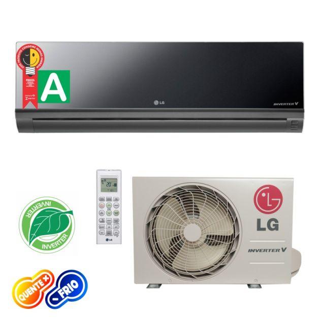 Ar Condicionado Split Hi Wall Libero Artcool 22000 Btus Inverter LG Quente/Frio 220v AS-W242CRG2