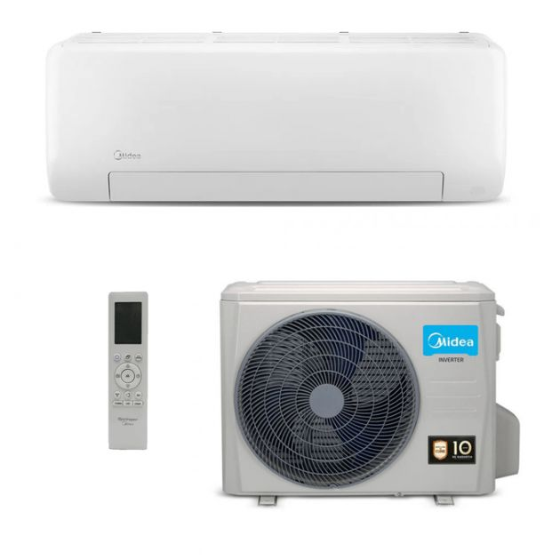Ar Condicionado Split Hi-Wall Midea Inverter All Easy Pro 12.000 BTU/h Quente/Frio 220v