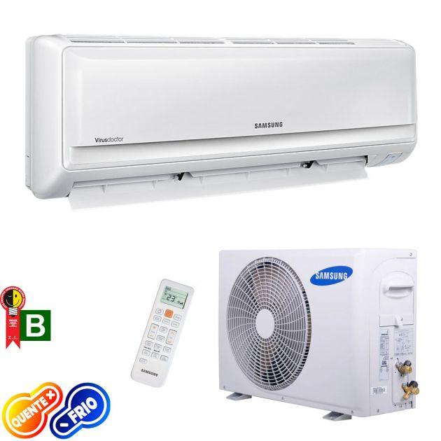 Ar Condicionado Split Hi Wall Samsung Max Plus 24.000 Btus/h Quente/Frio 220v AR24HPSUAWQ/AZ