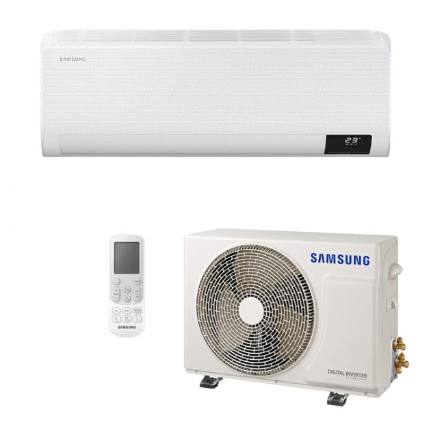 Ar Condicionado Split Hi-Wall Samsung WindFree Inverter 9.000 BTU/h Quente/Frio 220v | AR09TSHCBWKNA
