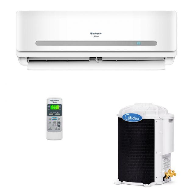 Ar Condicionado Split Hi Wall Springer Midea R410-A 30.000 Btu/h Quente/Frio 220v 42MAQA30S5