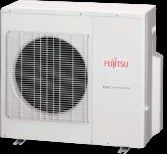 Condensadora Multi Flexível Fujitsu Inverter 30.000 Btus/h Quente/Frio 220v AOBG30LAT4