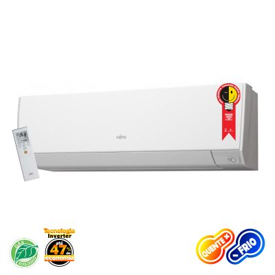 Evaporadora Multi Flexível Fujitsu Inverter com sensor 12.000 Btus/h Quente/Frio 220v ASBG12LMCA